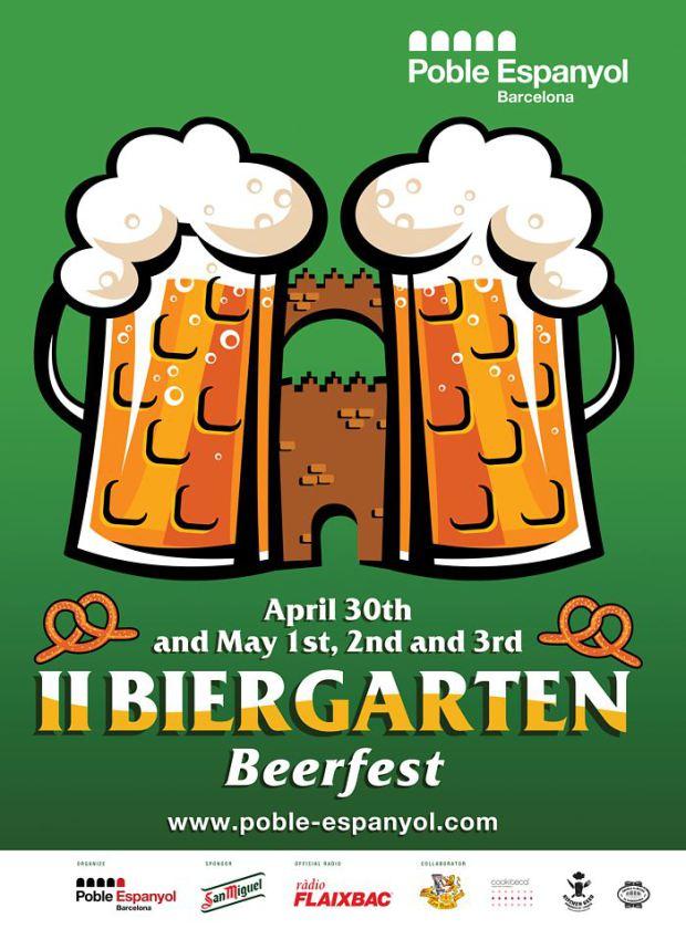 Biergarten Beer Festival Barcelona