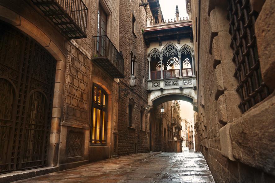 Por barcelona en bicicleta fuster apartments - Casco antiguo de barcelona ...