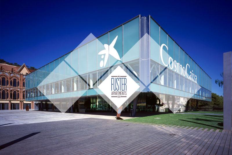 CosmoCaixa Barcelona Science Museum - Fuster Apartments