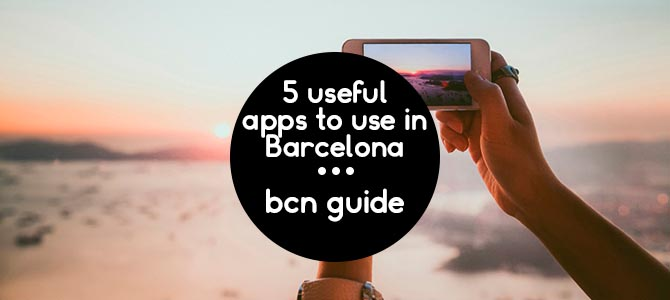 Useful apps to use in Barcelona