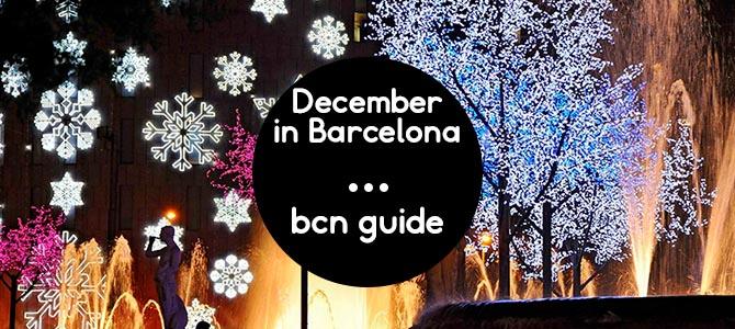 December in Barcelona