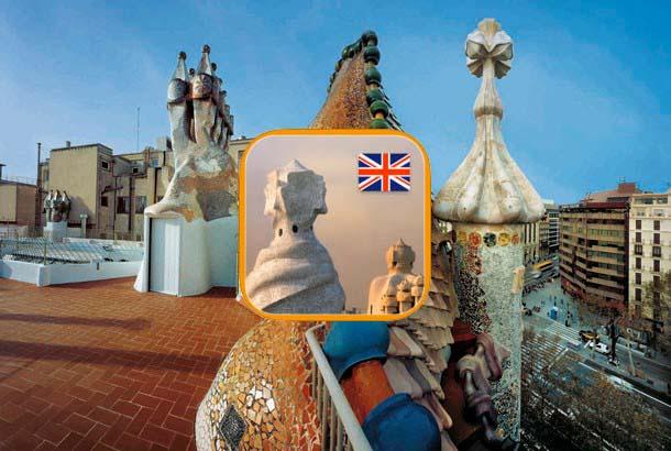Gaudí app Barcelona