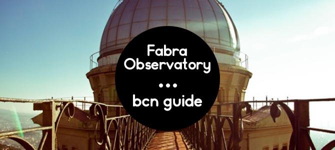 Fabra Observatory Barcelona