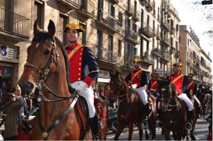 parade barcelona