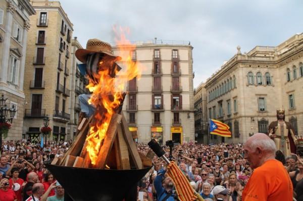 The Canigou flame