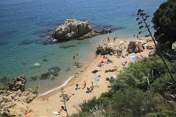 Playa calella de mar
