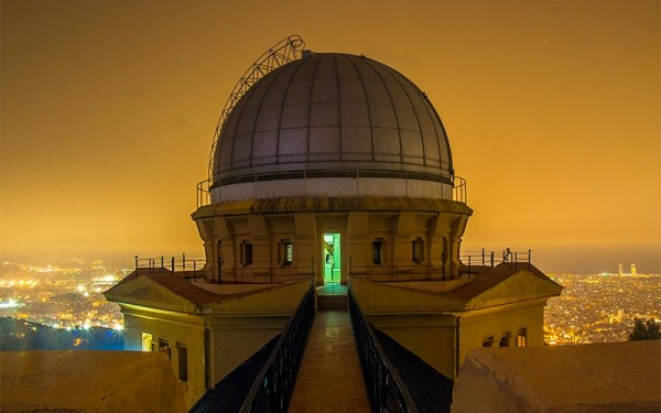 cenas bajo las estrellas observatorio fabra