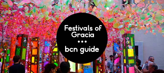 Festivals of Gracia, Barcelona