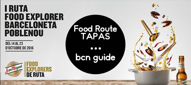 Food Explorer Barcelona - Tapas