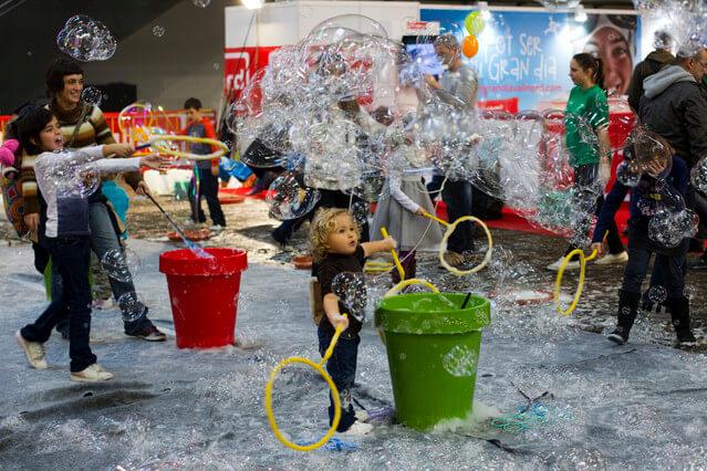 niños festival de la infancia