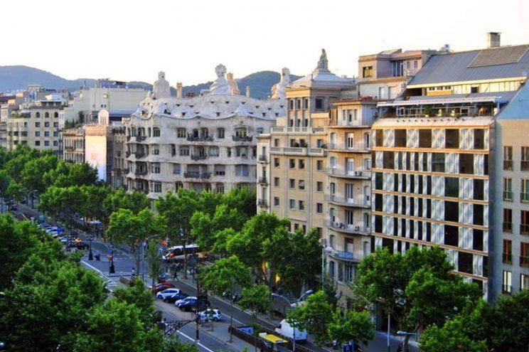 Paseo de racia barcelona