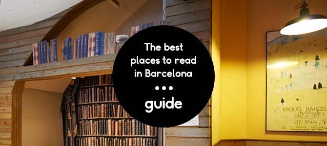 las mejores cafeterias librerias en Barcelona