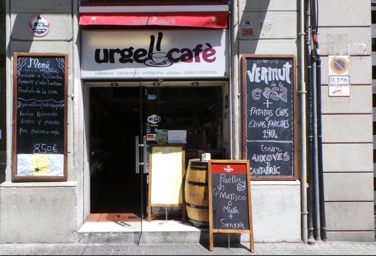 Cafe Urgell Barcelona