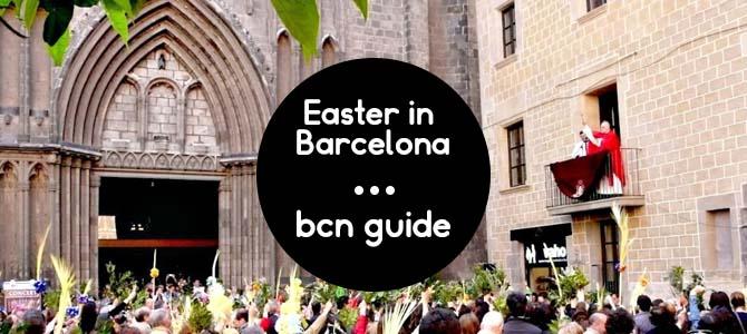 easter in barcelona