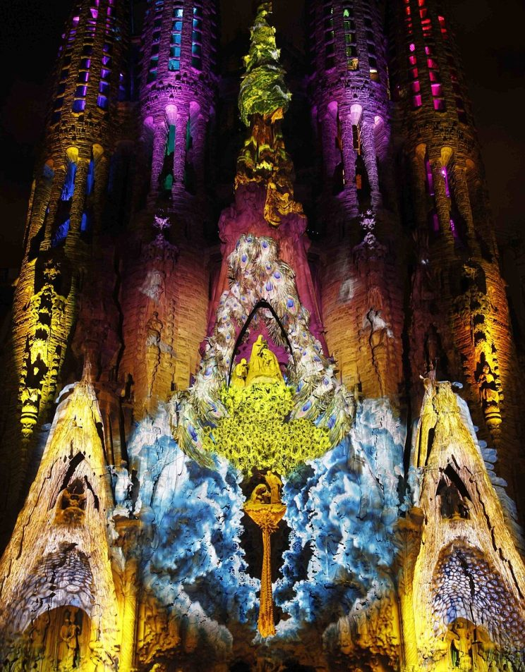 Sagrada Familia Illuminations