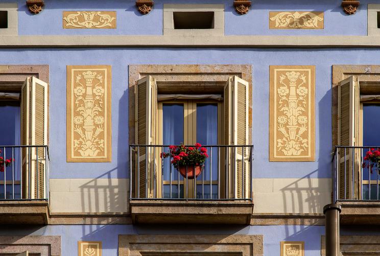 Balcony La Rambla Barcelona