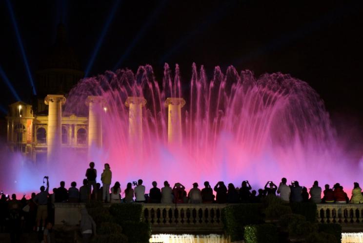 Magic Fountain Montjuic Barcelona