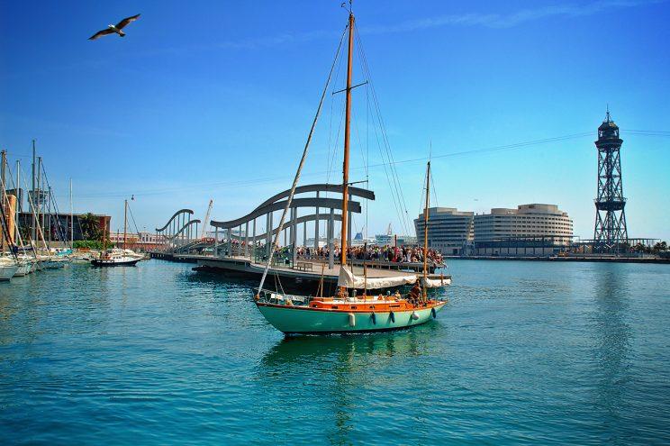 Sailing Boat Barcelona