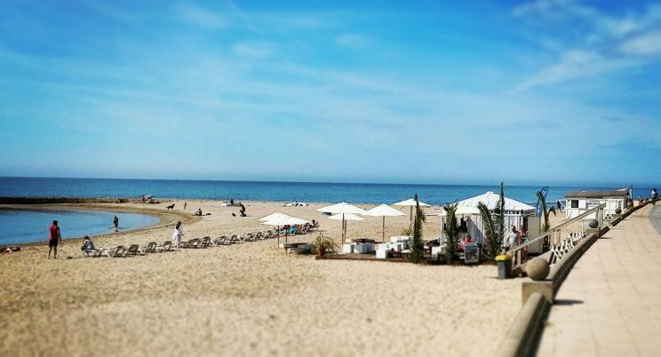 Sitges terramar beach