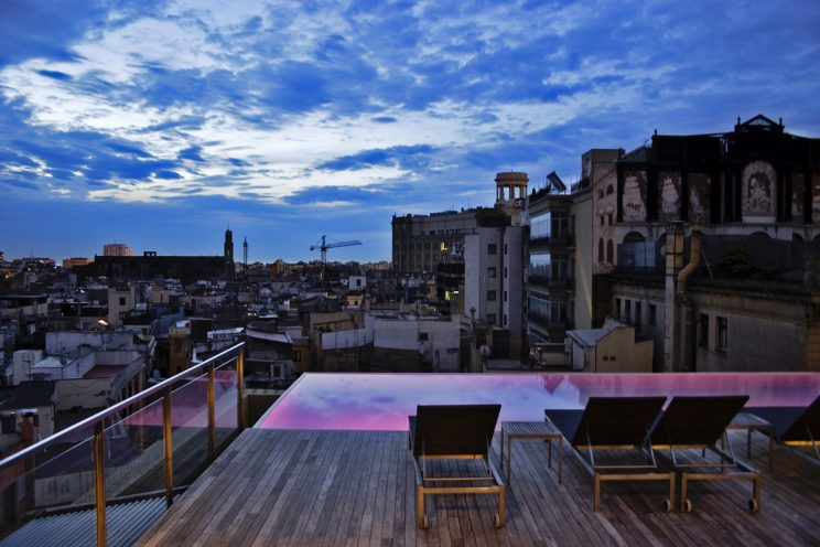 sky bar hotel central barcelona