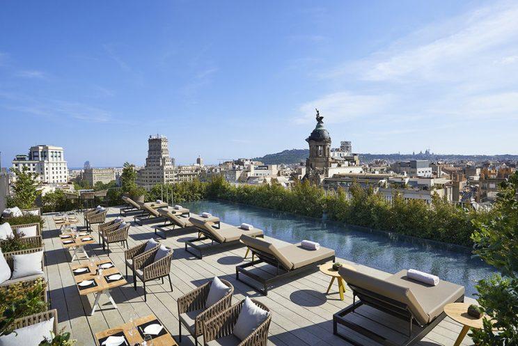 mandarin oriental barcelona terrace