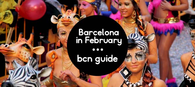 barcelona en febrero