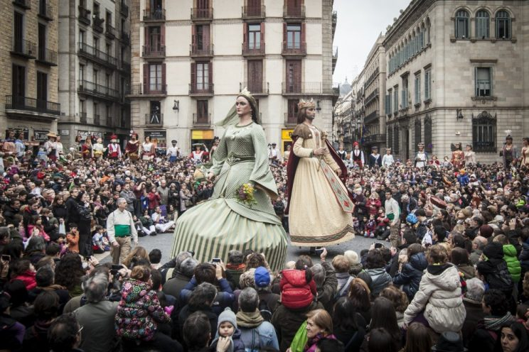 Fiestas Santa Eulalia Barcelona