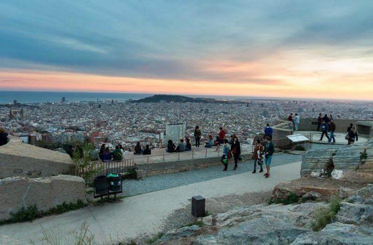 bunkers carmel mirador barcelona