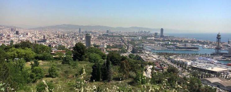 mirador barcelona castillo de montjuïc