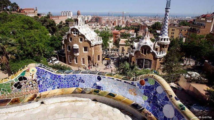 mirador barcelona park güell