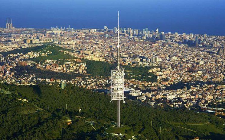 mirador barcelona torre de collserola