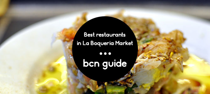 best restaurant in la boqueria Barcelona