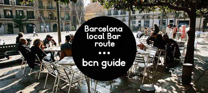 barcelona local bar route