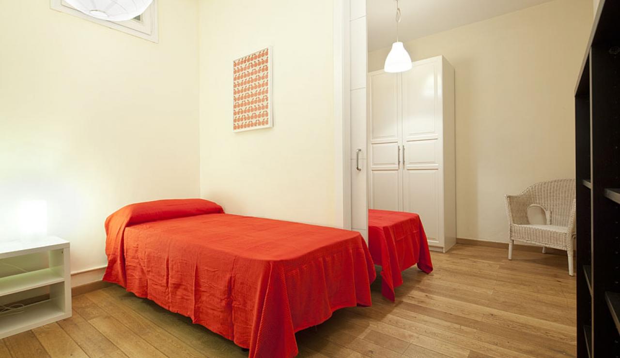 city center apartments in barcelona dormitorio 2