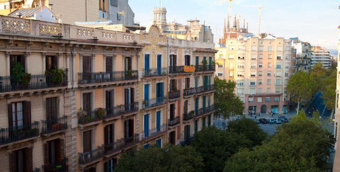 Apartmento barcelona eixample vistas