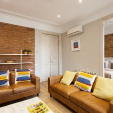 Apartmento barcelona eixample salón