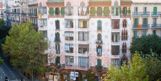 Apartmento barcelona eixample edificio