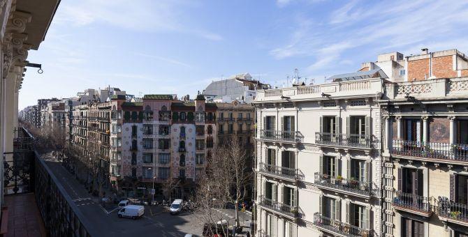 apartment barcelona eixample vistas