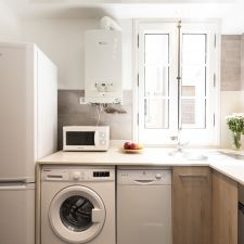 apartment barcelona eixample cocina