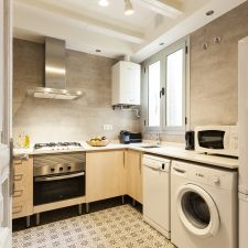 Apartmento barcelona eixample cocina