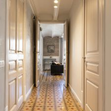 Apartmento barcelona eixample pasillo
