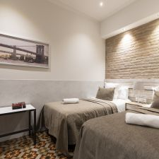 Apartmento barcelona eixample dormitorio 2