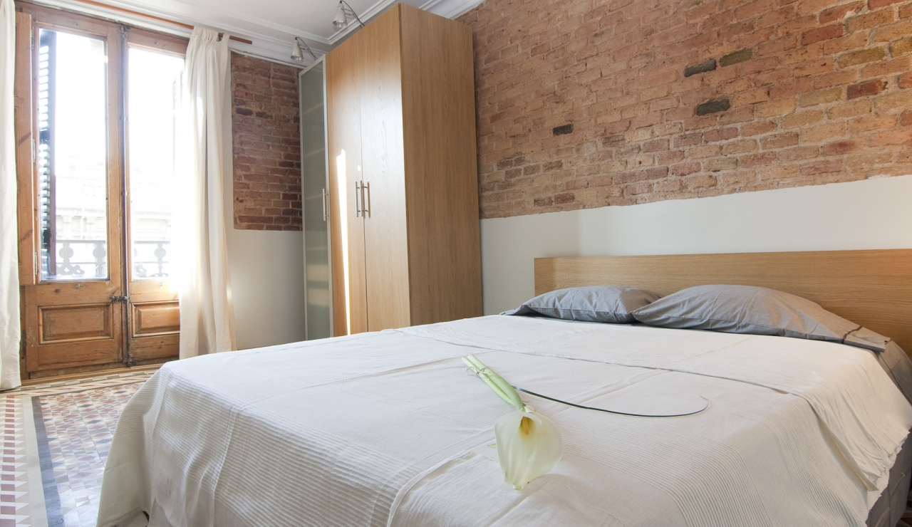 holiday apartments in barcelona dormitorio 1